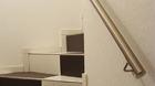Edelstahl Handlauf | kurzer Treppenabschnitt