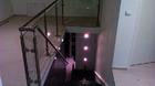 Glas-Pfosten-Geländer mit Klarglas_1