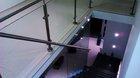 Glasgeländer mit Edelstahlpfosten | Treppengeländer