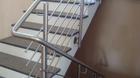 Edelstahl Reling-PLUS-Geländer | Treppenhaus