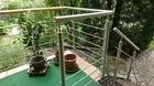 Relinggeländer mit Tor | Treppenabgang