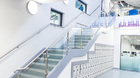 Treppengeländer | Edelstahl mit Glas