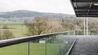 Geländer für die Terrasse aus Glas