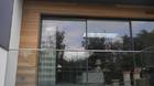 Glasgeländer, Ganzglasgeländer mit Klarglas, Einfamilienhaus