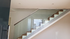 Ganzglasgeländer | Treppenabgang