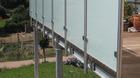 Glas-Pfosten-Geländer mit Milchglas_6