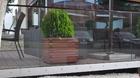 Terrassengeländer, Modell Ganzglas