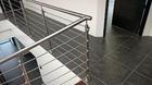 Treppengeländer | Edelstahl | waagerechte Füllstäbe