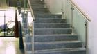 Treppengeländer | Edelstahlgeländer mit Glas