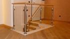 Treppengeländer | im Innenbereich mit Holzhandlauf