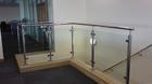 Glas-Pfosten-Geländer mit Klarglas_7