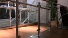 Glas-Pfosten-Geländer mit Klarglas_9