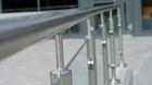 Glas-Pfosten-Geländer mit Klarglas_14