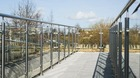 Glas-Pfosten-Geländer mit Klarglas_17
