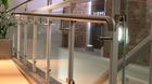 Glas-Pfosten-Geländer mit Klarglas_12
