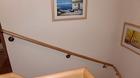 Holz Handlauf | Wandmontage | Flur