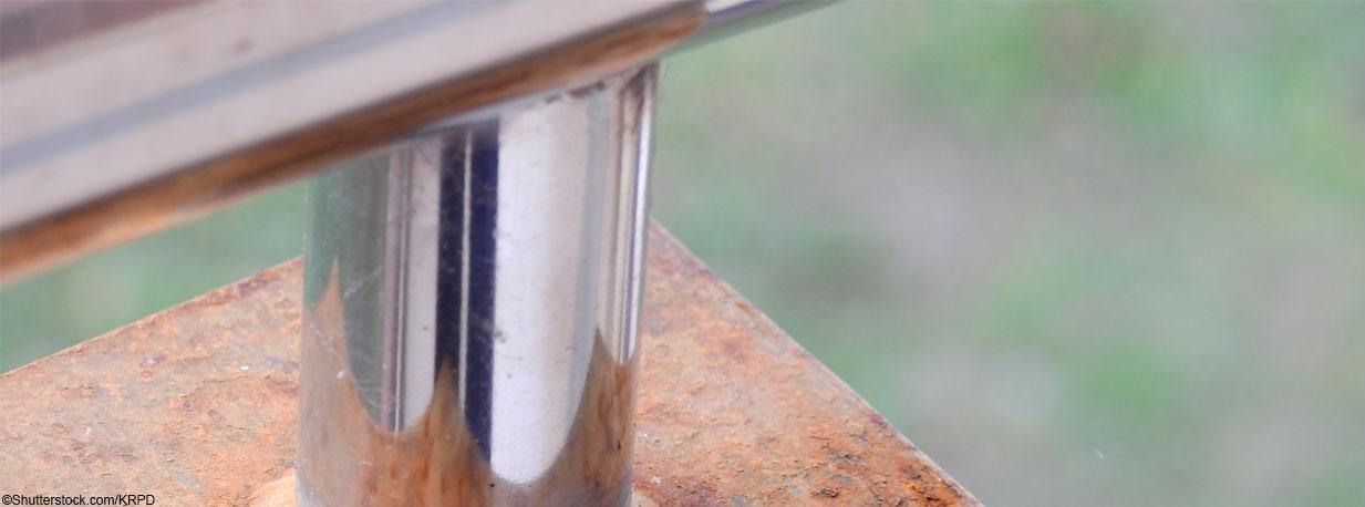 Gut gemocht Edelstahlgeländer - Flugrost entfernen | huero.de ZN06